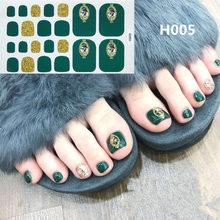 Накладные ногти на ногах, объемные, 22 шт./компл.(Китай)
