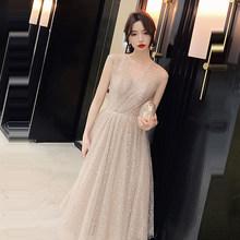 Женское платье для выпускного вечера It's Yiyya, элегантное короткое блестящее платье с v-образным вырезом и пайетками, вечерние платья размера ...(Китай)