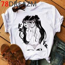 Японская манга Junji Ito T Shrit, мужская летняя футболка с аниме ужасов, томие Shintaro Kago Girl мультфильм большие мужские футболки(Китай)