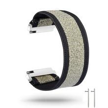 Эластичный нейлоновый ремешок для часов для Samsung Galaxy Watch 46 мм активный 2 40 мм 44 мм ремешок 18 мм 20 мм 22 мм нейлоновый браслет для наручных часов(Китай)