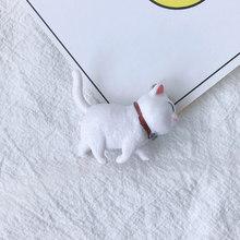 Kawaii 3D статуя кота брелок из смолы подвески милые поделки в виде животных кулон для брелока пара сумок украшение для ключей ювелирное издели...(Китай)