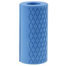 Толстая штанга для гантелей с жировой штангой, рукоятка для тяжелой атлетики, силиконовая противоскользящая защитная накладка для бодибил...(China)