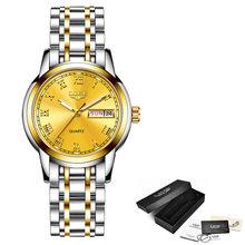 LIGE 2020 женские часы Роскошные Водонепроницаемые наручные часы Топ бренд стальной ремешок Кварцевые Wirst часы для женщин часы Reloj Mujer(China)