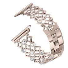 Ремешок для часов iwatch, из нержавеющей стали, 38/42/40/44 мм(Китай)