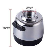 Кухонный аэратор с поворотом на 360 градусов, распылительная головка, фильтр для водопроводного крана, 3 режима, регулируемый Tap-фильтр брызг, ...(Китай)