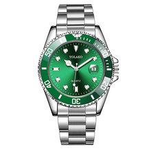 Новые дизайнерские мужские часы Топ бренд класса люкс Rolex_Watch в кварцевые наручные часы для мужчин из нержавеющей стали водонепроницаемые м...(Китай)