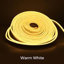 5m Neon Strip DC12V LED Strip Light SMD2835 Waterproof Neon Ribbon Flexible Rope Tube for Car Home Decoration Landscape Lighting(Китай)