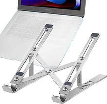 Портативная подставка для ноутбука алюминиевый складной Macbook Pro Поддержка Регулируемый держатель для ноутбука база для планшетных ПК Компь...(Китай)