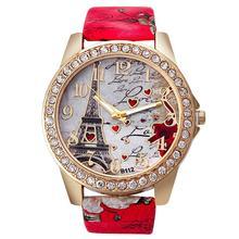 Модные ментальные женские кварцевые часы-браслет красочные Роскошные Горячие Продажи Романтические часы женские красивые креативные нару...(Китай)
