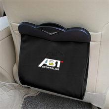 1X примерно на заднем сиденье мусорный мешок для Audi A3 8V A4 B8 B9 A5 A6 A7 Q2 Q3 Q5 Q7 Q8 TT из искусственной кожи заднем сиденье ящик для хранения мусора Орг...(Китай)