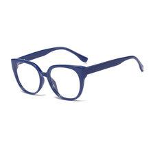 """SHAUNA Ретро Классический Для женщин """"кошачий глаз очки модные Винтаж Для мужчин Для женщин с прозрачными линзами, очки с оправой(Китай)"""