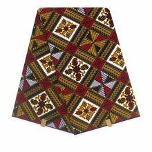 2020 оригинальный воск африканская печать ткань для свадебного платья ткани африканская ткань 100% хлопок воск ткань(Китай)