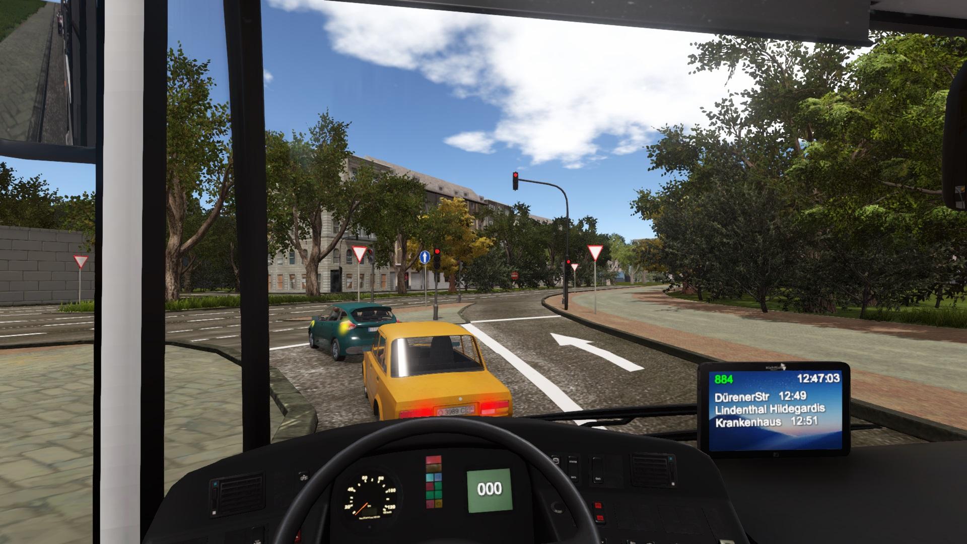 巴士司机模拟器2019 v6.7免安装中文版