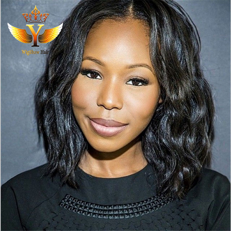 Pleasant Online Get Cheap Middle Part Lace Front Wig Aliexpress Com Short Hairstyles Gunalazisus