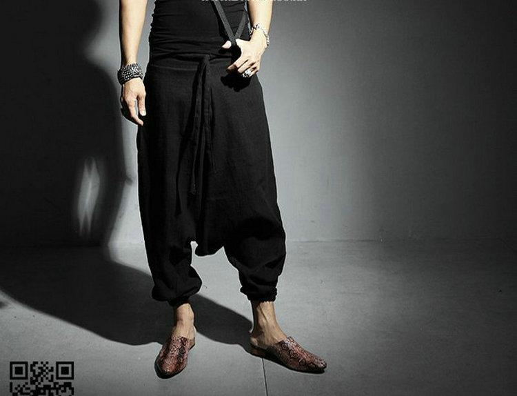 2019 New Men Women Japanese Samurai Style Boho Casual Low