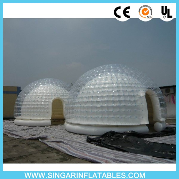 bonne qualit gonflable garage tente gonflable bulle transparente tente appareil gonflable pour. Black Bedroom Furniture Sets. Home Design Ideas