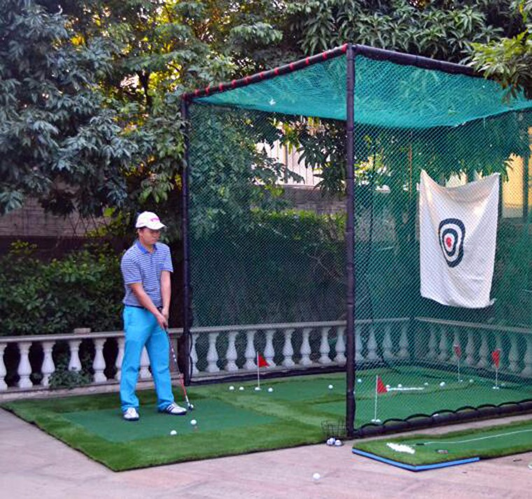 Golf Practice Hitting Cage And Chipping Net - Buy Golf Net ...