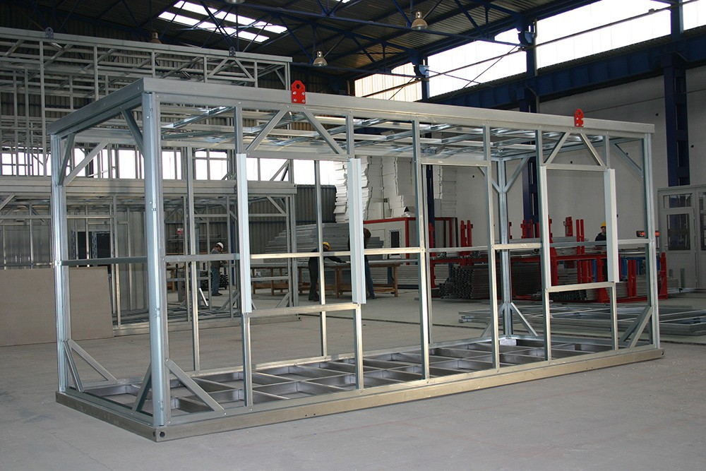 Light Steel Modular System Container Home Dkp Price Iraq