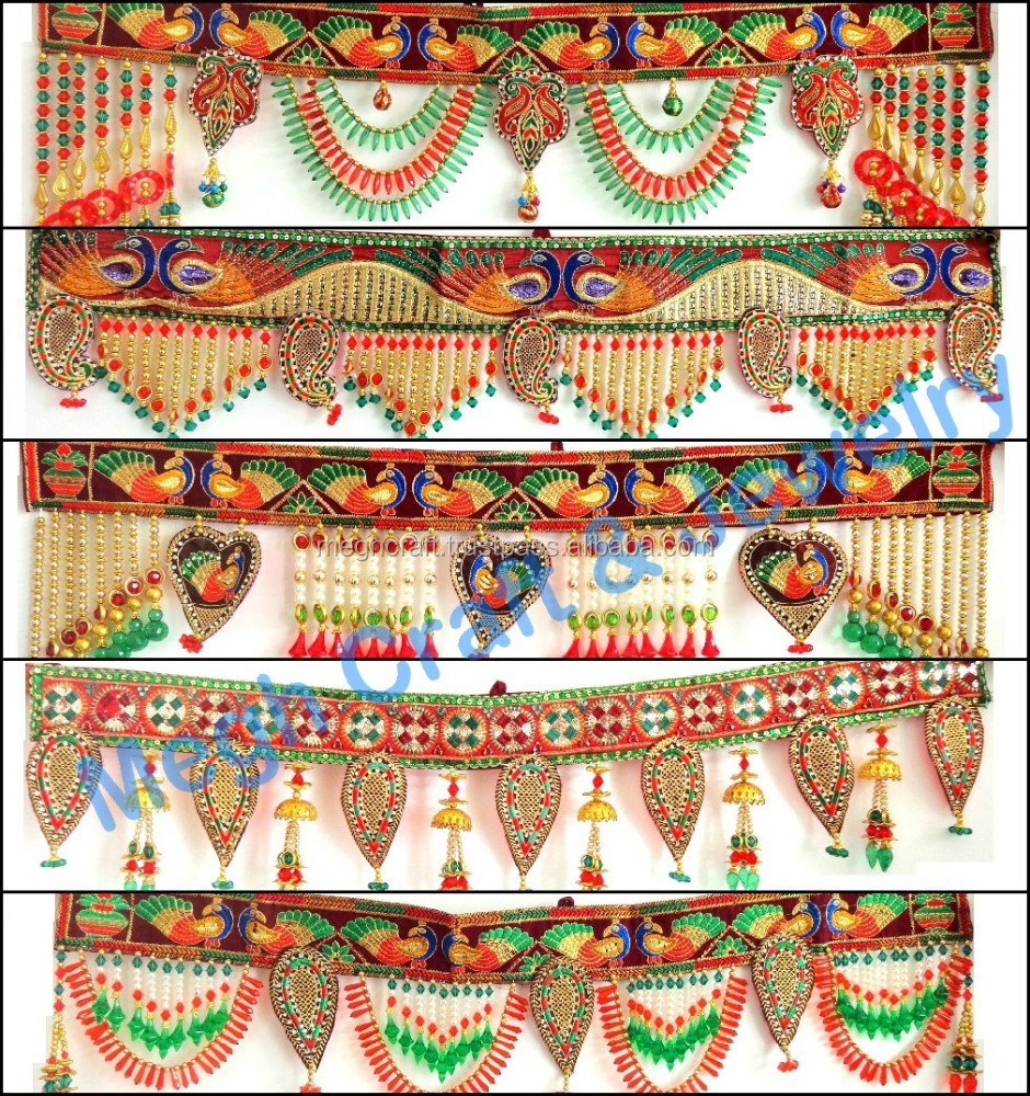 Wholesale Beaded Crystal Work Wall Hanging-diwali Special