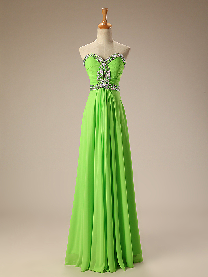 Real Photos Royal Blue Lime Green Turquoise Coral Chiffon ...