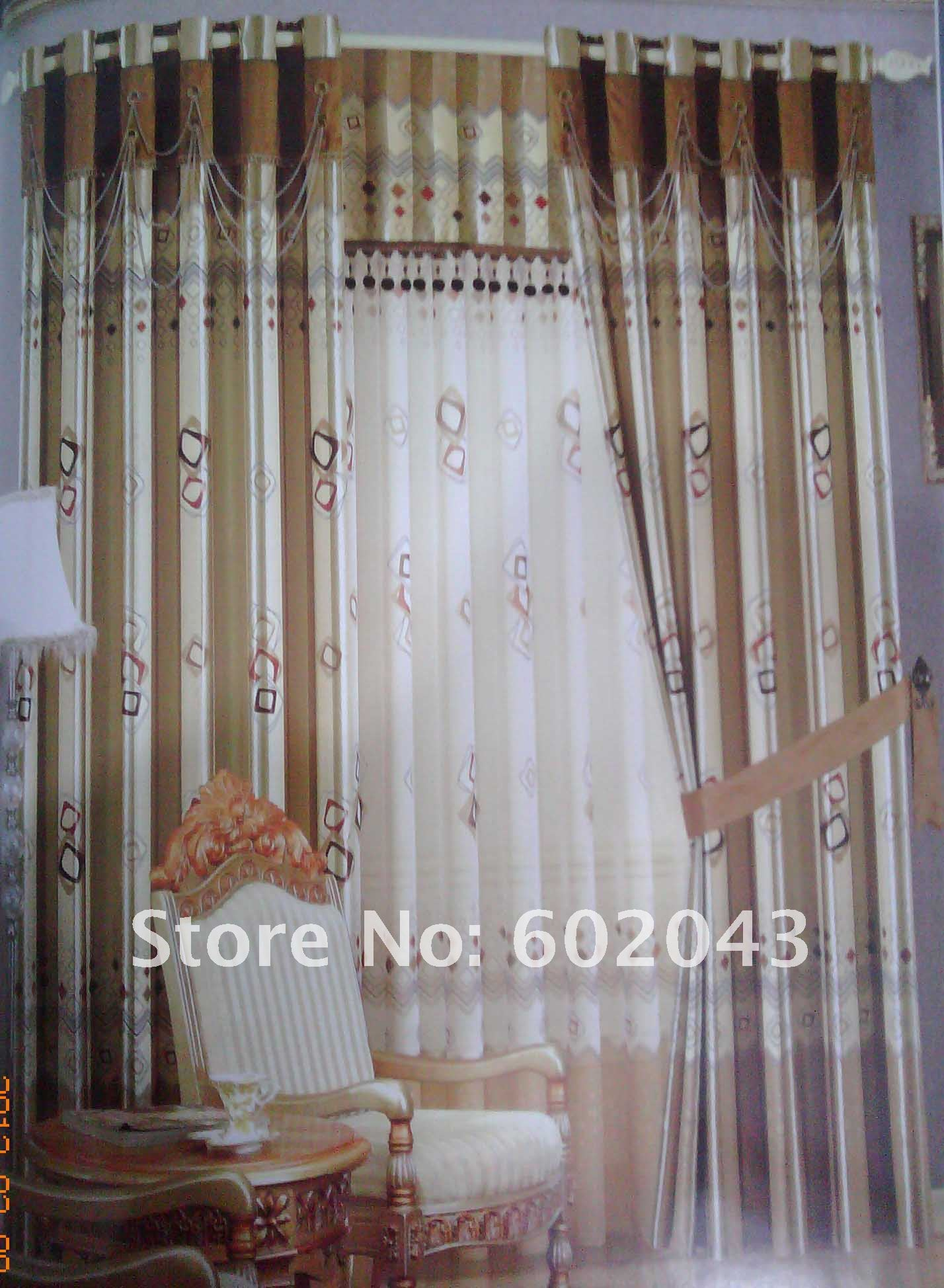 double rideaux. Black Bedroom Furniture Sets. Home Design Ideas