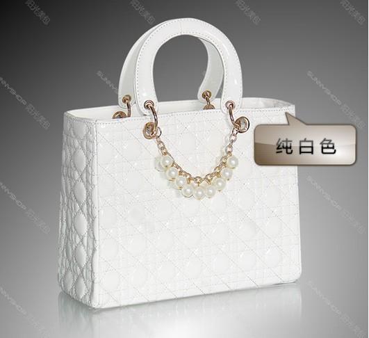 הנחה !! 2013 חדשים מגיעים נשים תיק משובץ כלה אופנה תיק להתחתן כתף תיק עור PU