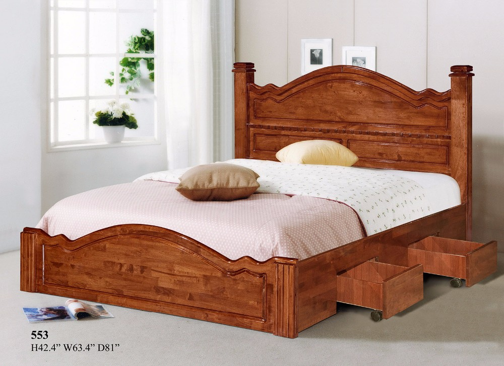 Wood Double Bed Designs With Box 553 Buy Wood Double Bed