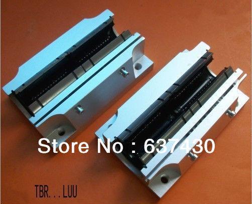Free shipping 1PCS TBR25LUU Linear slide/ 3d printer parts/diy cnc router  parts