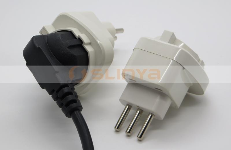 allemagne france ue prise de courant l 39 uruguay italie alimentation plug adapter prises. Black Bedroom Furniture Sets. Home Design Ideas
