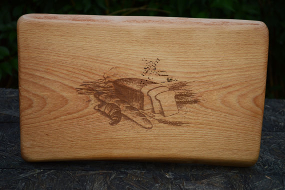 laser engraved cutting board handmade wooden cutting board custom