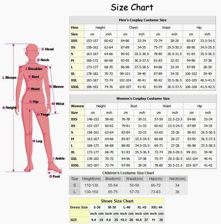 Choose the right size corset by measuring YOUR WAIST and pick up corresponding CORSET SIZE from the chart below. Please make sure your Chest & Upper Hip measurement falls in proportion to size guide measurement shown below.