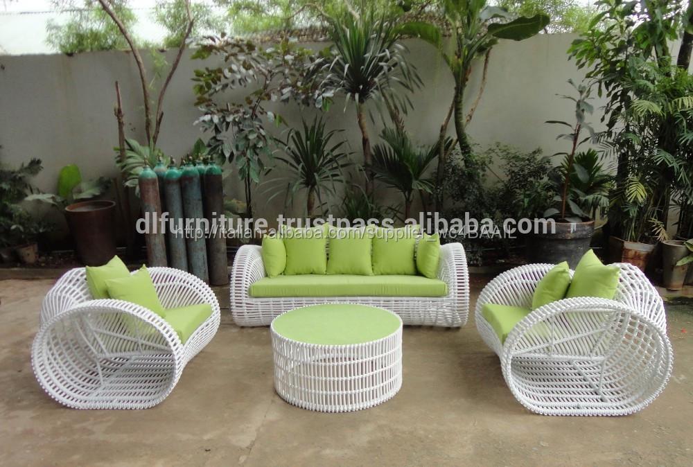 Rattan nuovi poli gruppo sedie giardino esterno di set for Set giardino esterno