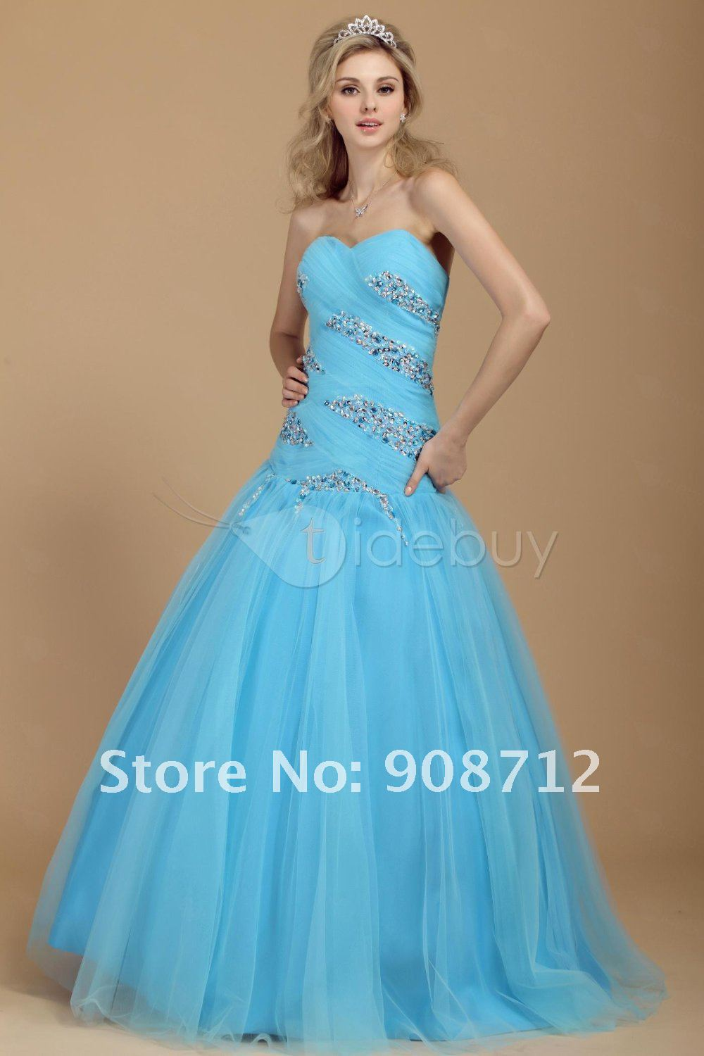 Beautiful Blue Prom Dresses | Cocktail Dresses 2016