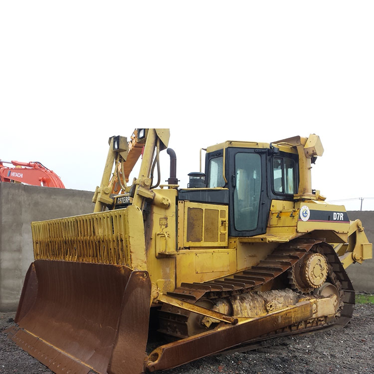 Caterpillar D7r Dozer – Jerusalem House