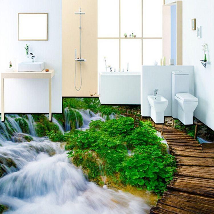3d effect design floor tiles for bathroom  buy 3d design
