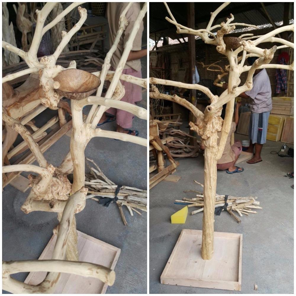 Java Wood Tree Play Stand Javawood Bird Perch Multi