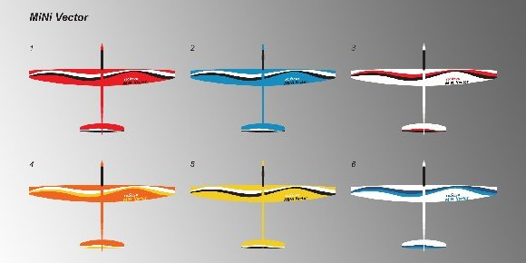 Wholesale-RCRCM 1 69m Minivec rc sailplane