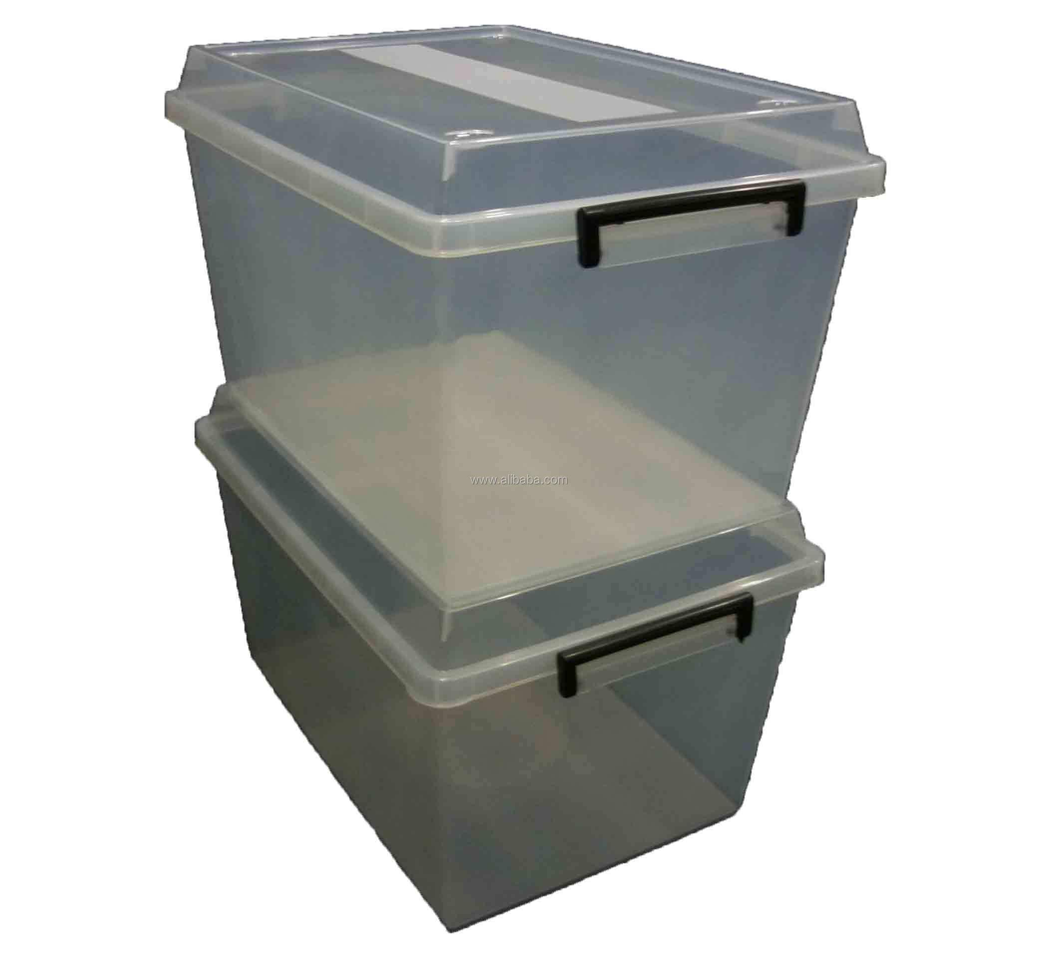 45lt Plastic Opbergdoos Dozen Bad Tubs Container