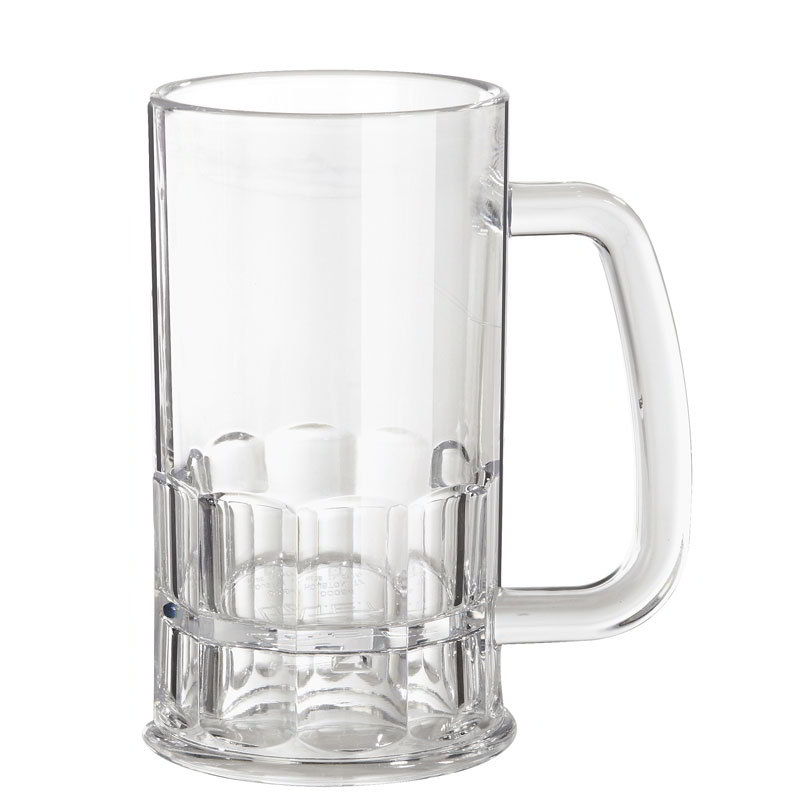 Cheap Customized Plastic Beer Mug With Customized Logo